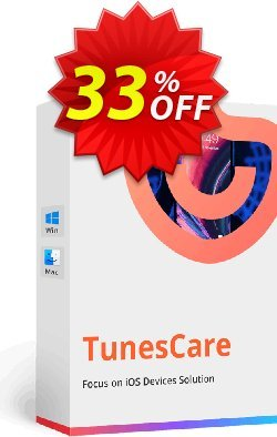 Tenorshare TunesCare Pro - 1 Month License  Coupon discount discount. Promotion: coupon code