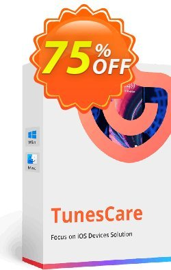 Tenorshare TunesCare Pro for Mac - 2-5 Macs  Coupon discount discount - coupon code