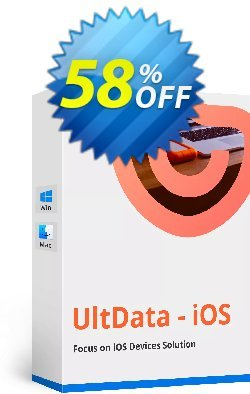 Tenorshare Ultdata for iOS Unlimited Coupon, discount Promotion code. Promotion: Offer discount