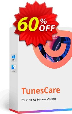 Tenorshare TunesCare Pro - Unlimited License  Coupon discount discount - coupon code