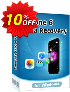 Tenorshare iPhone 6 Data Recovery for Windows Coupon, discount 10% Tenorshare 29742. Promotion: