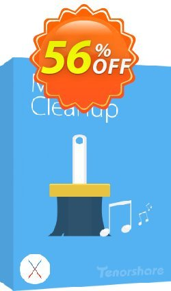 Tenorshare iTunes Music Cleanup for Mac Coupon discount 10% Tenorshare 29742 -