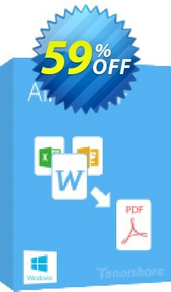 Tenorshare Advanced All to PDF for Windows Coupon, discount 10% Tenorshare 29742. Promotion: