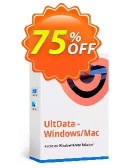 UltData - Windows Data Recovery - 1 year Coupon, discount 10% Tenorshare 29742. Promotion:
