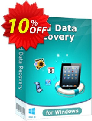 Tenorshare iPad Air/iPad 4/mini/3/2 Data Recovery for Win Coupon, discount 10% Tenorshare 29742. Promotion:
