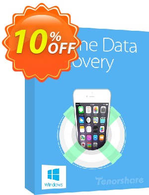 Tenorshare iPhone 5s/5c/5 Data Recovery for Windows Coupon, discount 10% Tenorshare 29742. Promotion: affiliate 597325