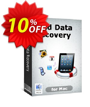 Tenorshare iPad Air/4/mini/3/2 Data Recovery for Mac Coupon, discount 10% Tenorshare 29742. Promotion: