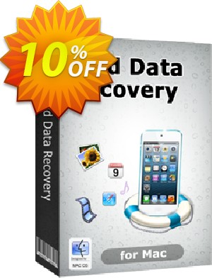 Tenorshare iPod Touch 5/others Data Recovery for Mac Coupon, discount 10% Tenorshare 29742. Promotion: