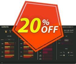 Audiority Deleight Coupon, discount Audiority Deleight Amazing promotions code 2021. Promotion: Amazing promotions code of Audiority Deleight 2021