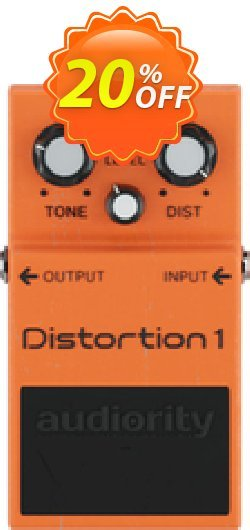 Audiority Distortion 1 Coupon, discount Audiority Distortion 1 Excellent offer code 2021. Promotion: Excellent offer code of Audiority Distortion 1 2021