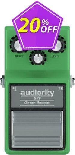 Audiority Green Reaper GR9 Coupon, discount Audiority Green Reaper GR9 Super deals code 2021. Promotion: Super deals code of Audiority Green Reaper GR9 2021