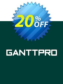 GanttPRO License Local Coupon, discount GanttPRO License (subscription) Local Imposing offer code 2021. Promotion: Imposing offer code of GanttPRO License (subscription) Local 2021