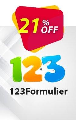 123Formulier Platina - maandelijks abonnement  Coupon discount 123Formulier Platina - maandelijks abonnement Impressive sales code 2021 - Impressive sales code of 123Formulier Platina - maandelijks abonnement 2021