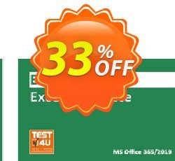 MO-200 Excel Associate Exam Coupon discount MO-200 Excel Associate Exam - Office 365 & Office 2019 - English version - 25 hours of access Big discount code 2021 - Big discount code of MO-200 Excel Associate Exam - Office 365 & Office 2019 - English version - 25 hours of access 2021