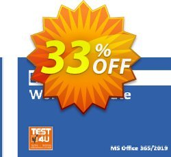 MO-100 Word Associate Exam Coupon discount MO-100 Word Associate Exam - Office 365 & Office 2019 - English version - 25 hours of access Super sales code 2021 - Super sales code of MO-100 Word Associate Exam - Office 365 & Office 2019 - English version - 25 hours of access 2021