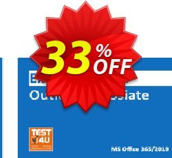MO-400 Outlook Associate Exam Coupon discount MO-400 Outlook Associate Exam - Office 365 & Office 2019 - English version - 25 hours of access Hottest promotions code 2021 - Hottest promotions code of MO-400 Outlook Associate Exam - Office 365 & Office 2019 - English version - 25 hours of access 2021