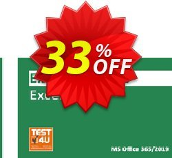 MO-201 Excel Expert Exam Coupon discount MO-201 Excel Expert Exam - Office 365 & Office 2019 - English version - 25 hours of access Awesome discount code 2021 - Awesome discount code of MO-201 Excel Expert Exam - Office 365 & Office 2019 - English version - 25 hours of access 2021