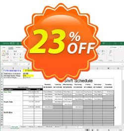 Shift Scheduler Spreadsheet for Excel Coupon, discount Shift Scheduler Spreadsheet for Excel Hottest sales code 2021. Promotion: Hottest sales code of Shift Scheduler Spreadsheet for Excel 2021