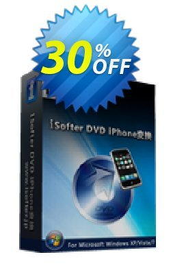 iSofter DVD iPhone変換 Coupon, discount iSofter DVD iPhone変換 Fearsome discounts code 2021. Promotion: Fearsome discounts code of iSofter DVD iPhone変換 2021