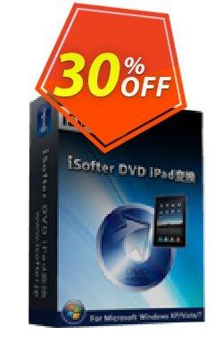 iSofter DVD iPad変換 Coupon, discount iSofter DVD iPad変換 Special sales code 2021. Promotion: Special sales code of iSofter DVD iPad変換 2021