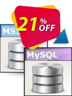 Viobo MSSQL to MySQL Data Migrator Pro Coupon, discount Viobo MSSQL to MySQL Data Migrator Pro. Awful promotions code 2021. Promotion: Awful promotions code of Viobo MSSQL to MySQL Data Migrator Pro. 2021