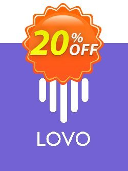 LOVO Studio Freelancer - Annually  Coupon, discount SPECIAL 50% OFF. Promotion: Special offer code of LOVO Personal [Monthly] 2021