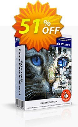 Artensoft Photo Mosaic Wizard-English Coupon, discount ARTENSOFT75EETEW. Promotion: