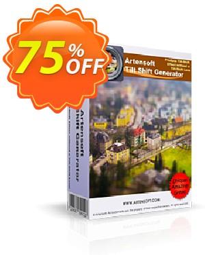 Artensoft Tilt Shift Generator Coupon, discount ARTENSOFT75EETEW. Promotion: