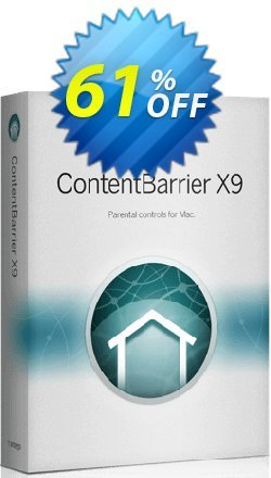 Intego ContentBarrier X9 Coupon, discount 41% OFF Intego ContentBarrier X9, verified. Promotion: Staggering promo code of Intego ContentBarrier X9, tested & approved