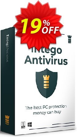 Intego Antivirus for Windows Coupon, discount 17% OFF Intego Antivirus for Windows, verified. Promotion: Staggering promo code of Intego Antivirus for Windows, tested & approved