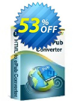 iStonsoft HTML to ePub Converter Coupon, discount 60% off. Promotion: