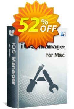 iStonsoft iOS Manager for Mac Coupon, discount 60% off. Promotion: