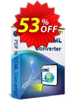 iStonsoft PDF to HTML Converter Coupon, discount 60% off. Promotion: