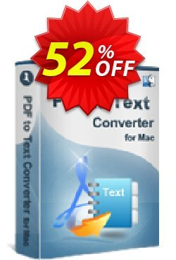 iStonsoft PDF to Text Converter for Mac Coupon, discount 60% off. Promotion: