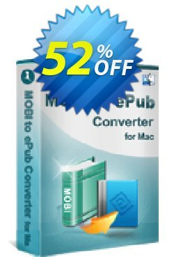 iStonsoft MOBI to ePub Converter for Mac Coupon, discount 60% off. Promotion: