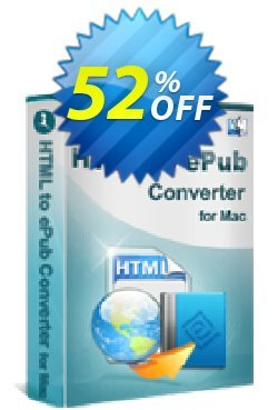iStonsoft HTML to ePub Converter for Mac Coupon, discount 60% off. Promotion: