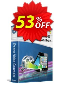 iStonsoft iPhone Video Converter Coupon discount 60% off. Promotion: