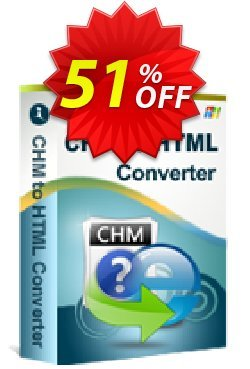 iStonsoft CHM to HTML Converter Coupon, discount 60% off. Promotion: