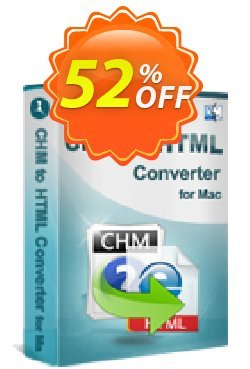 iStonsoft CHM to HTML Converter for Mac Coupon, discount 60% off. Promotion:
