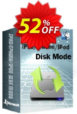 iStonsoft iPad/iPhone/iPod Disk Mode for Mac Coupon, discount 60% off. Promotion: