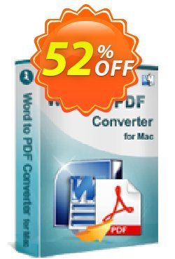 iStonsoft Word to PDF Converter for Mac Coupon, discount 60% off. Promotion: