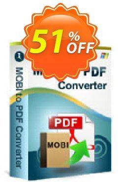 iStonsoft MOBI to PDF Converter Coupon, discount 60% off. Promotion: