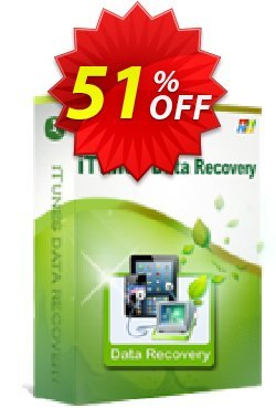 iStonsoft iTunes Data Recovery Coupon, discount 60% off. Promotion: