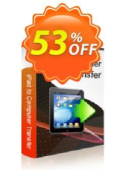 iStonsoft iPad to Computer Transfer Coupon, discount 60% off. Promotion: