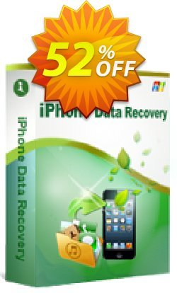 iStonsoft iPhone Data Recovery Coupon, discount 60% off. Promotion: