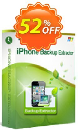 iStonsoft iPhone Backup Extractor Coupon, discount 60% off. Promotion: