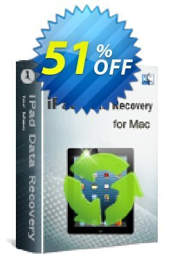iStonsoft iPad Data Recovery for Mac Coupon, discount 60% off. Promotion: