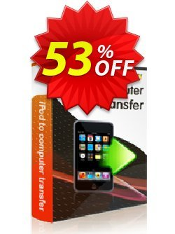 iStonsoft iPod to Computer Transfer Coupon, discount 60% off. Promotion: