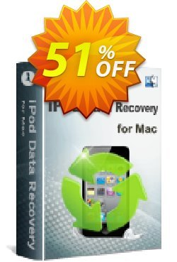 iStonsoft iPod Data Recovery for Mac Coupon, discount 60% off. Promotion: