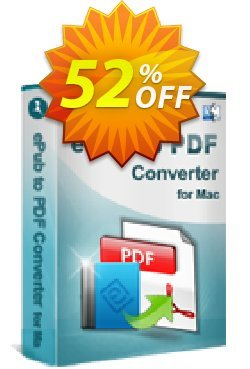 iStonsoft ePub to PDF Converter for Mac Coupon, discount 60% off. Promotion: